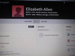 Elizabeth <I>Allen</I> Baggett