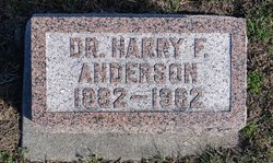 """Dr Harrison Fellows """"Harry"""" Anderson"""