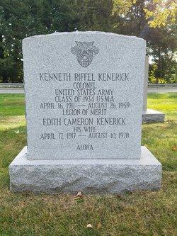 Col Kenneth Riffel Kenerick