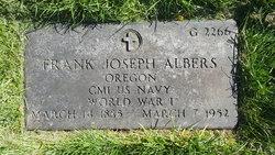 Frank Joseph Albers