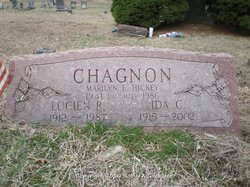Ida May <I>Church</I> Chagnon