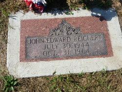 """John Edward """"Eddie"""" Reichert"""