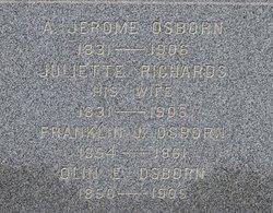 Juliette <I>Richards</I> Osborn