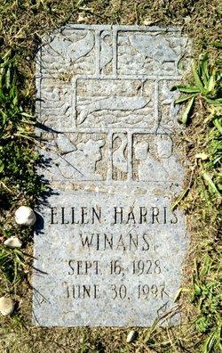 Ellen <I>Harris</I> Winans