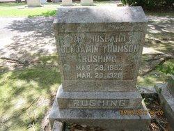Benjamin Thomson Rushing