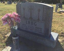 """Constantine J. """"Dean"""" Lang"""
