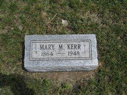 Mary Matilda <I>Clowe</I> Kerr