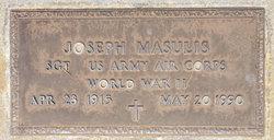 Sgt Joseph Masulis