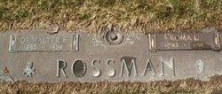 Dr Walter F. Rossman