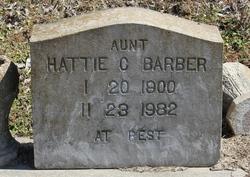 """Hattie """"Aunt Hattie"""" <I>Carter</I> Barber"""