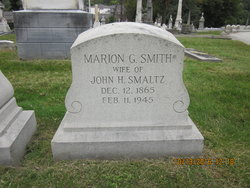 Marion G <I>Smith</I> Smaltz