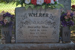 Dorothy Mae <I>Smith</I> Walker