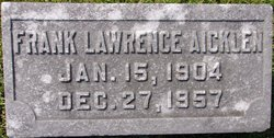 Frank Lawrence Aicklen