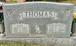 "James Augustus ""Gus"" Thomas"