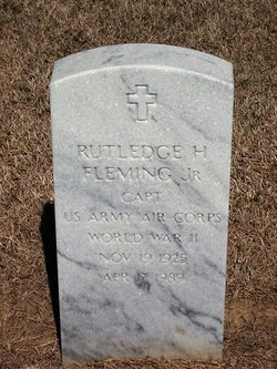 Capt Rutledge H. Fleming, Jr