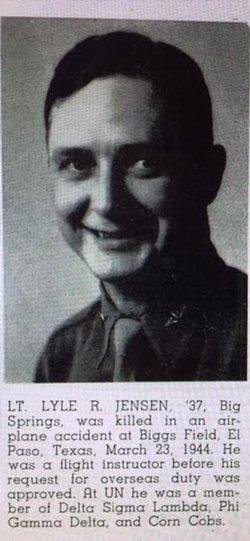 1LT Lyle R Jensen