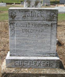 August Friedrich Boedeker