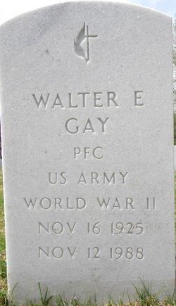 Walter E Gay