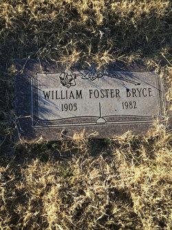 "William F ""Foster"" Bryce"
