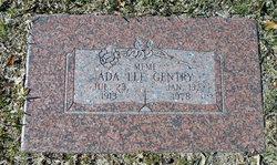 Ada Lee <I>Garrett</I> Gentry