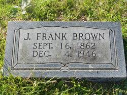 """James Franklin """"Frank"""" Brown"""