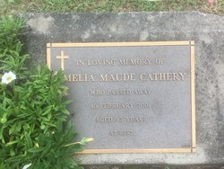 Amelia Maude Cathery