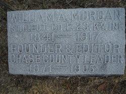 1LT William Albert Morgan