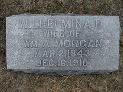 """Wilhelmina D. """"Minnie"""" <I>Yoast</I> Morgan"""