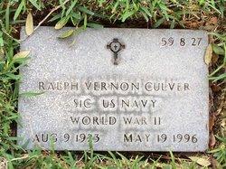 Ralph Vernon Culver