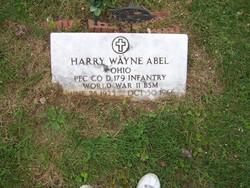 Harry Wayne Abel