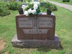 Harriet L <I>Landrum</I> Allen