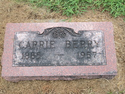 Carrie Isabel <I>McCawley</I> Berry