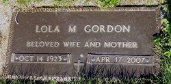 Lola M <I>Warhurst</I> Gordon