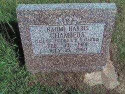 Naomi <I>Harris</I> Chambers
