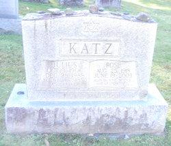 Mrs Rose <I>Newmark</I> Katz