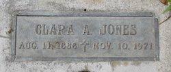 Clara Augusta <I>Wentzel</I> Jones