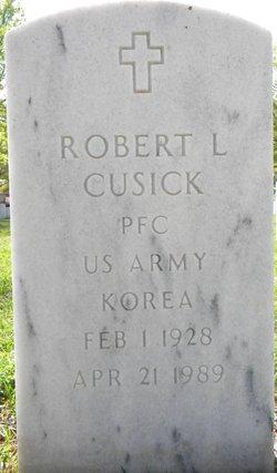 Robert L Cusick
