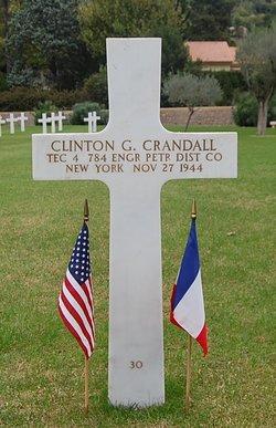 """Tec4 Clinton Gerald """"Jerry"""" Crandall"""