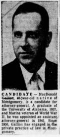 George MacDonald Gallion