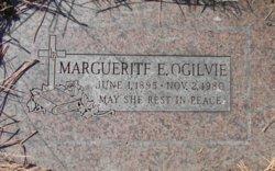 Marguerite Elizabeth <I>Lardy</I> Ogilvie