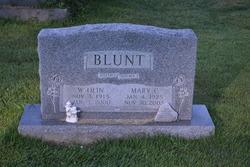 Mary C Blunt