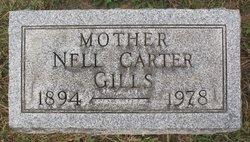 """Nellie Grace """"Neil"""" <I>Carter</I> Gills"""
