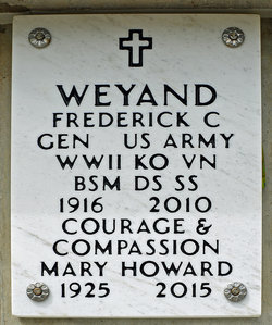 Mary Whitney <I>Howard</I> Weyand