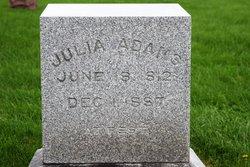 Rebecca Julia <I>Lawrence</I> Adams