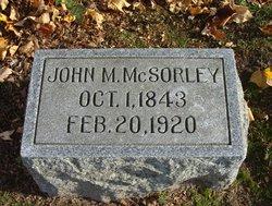 John M McSorley