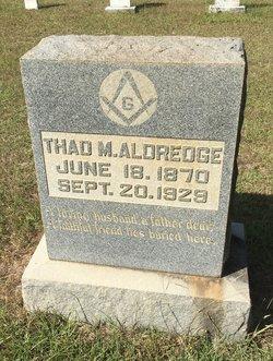 Thaddeus Monroe Aldredge