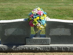 Janie Bell <I>Wallace</I> Simpson