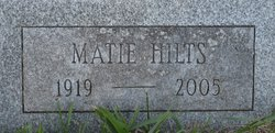 Matie <I>Hilts</I> Adamany