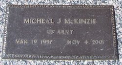 "Michael James ""Mike"" McKinzie"