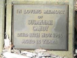 """Susannah """"Susie"""" Candy"""